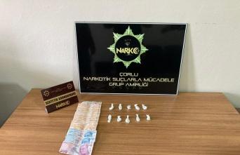 Çorlu'da uyuşturucu şüphelisi yakalandı