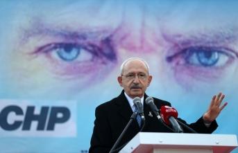 CHP Genel Başkanı Kılıçdaroğlu Gelibolu ilçesi Bolayır köyünde vatandaşlara hitap etti: