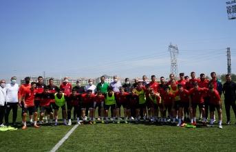 Başkan Murat Gerenli'den Lüleburgazspor antrenmanına ziyaret