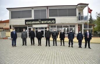 Edirne Valisi Canalp köylülerden salgın tedbirlerine uymalarını istedi