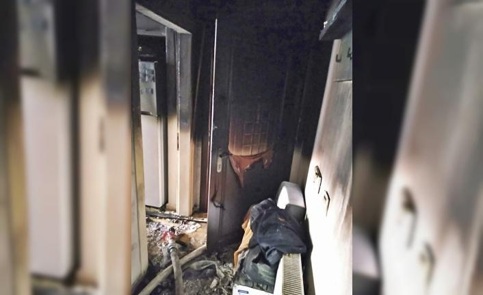 Gelibolu'da çıkan ev yangını söndürüldü