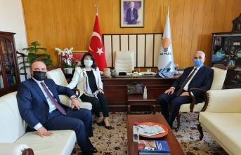 Kavakköy Belediye Başkanı Necati Kopça, Ankara'da ziyaretlerde bulundu