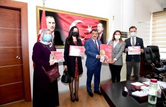 LÖSEV'den Malatya Belediye Başkanı Gürkan'a ziyaret
