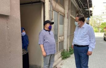 Karesi Belediye Başkanı Dinçer Orkan vatandaşın taleplerini dinledi