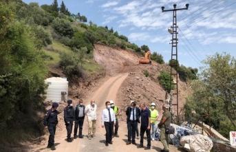 Vali İlhami Aktaş Assos Antik Liman'da incelemelerde bulundu