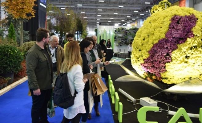 Uluslararası Flower Show İstanbul 14-16 Kasım 2019'da.