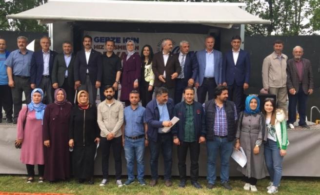 AK Parti pikniğinde Köşker'e soğuk duş