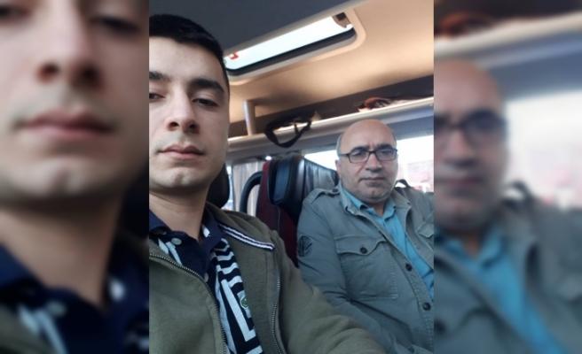 Can Akgün, Askerlik görevi için Ankara yolunda