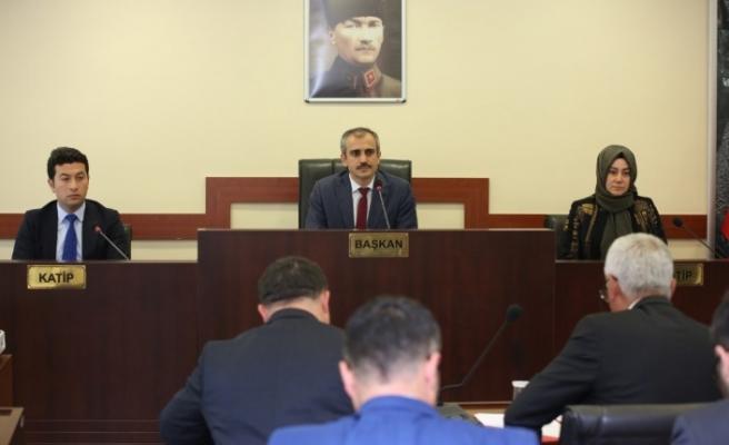 Çayırova Belediye meclisi toplandı