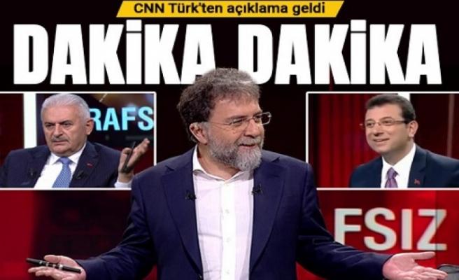 CNN Türk'ten  açıklama geldi