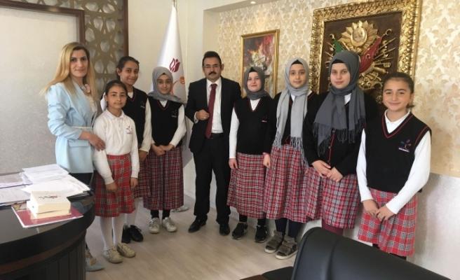 Darıca Şehit Hasan Kaya İHL öğrencileri ödülleri topladı