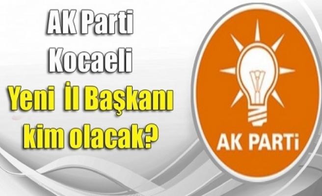 İl başkan adaylarının isimleri Erdoğan'ın masasında