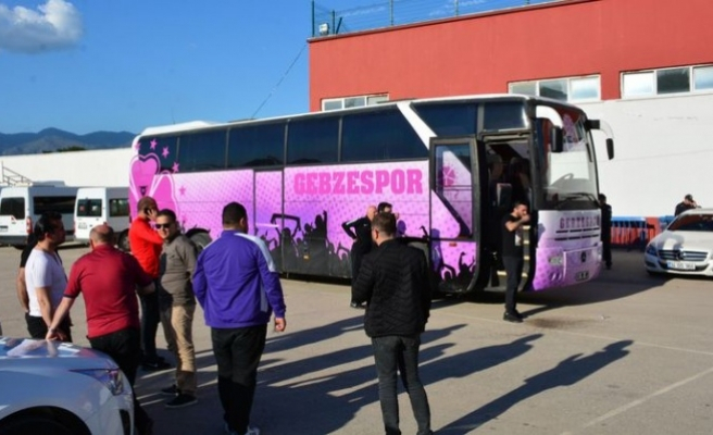 Küme düşen Gebzespor'da futbolcular takım otobüsüne alınmadı