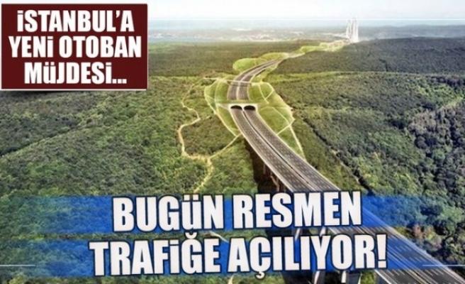 Kuzey Marmara Otoyolu trafiğe açılıyor