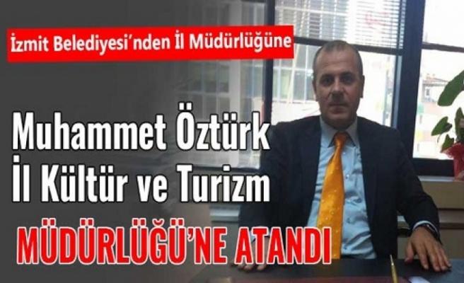 Muhammed  Öztürk, Kocaeli İl Kültür müdürü oldu