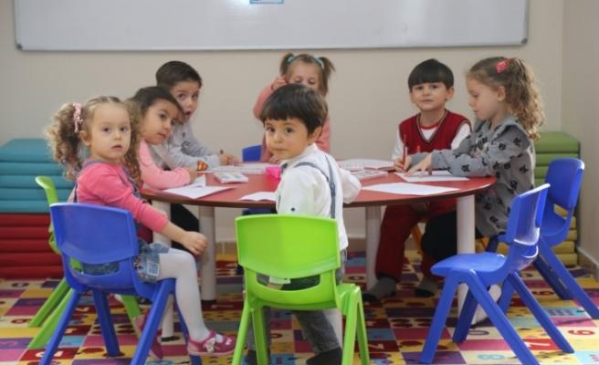 Oyun Odaları'ndan 1382 çocuk yararlandı