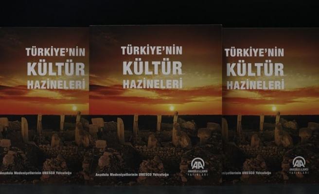 Anadolu Ajansı 'Türkiye'nin Kültür Hazineleri'ni kitaplaştırdı