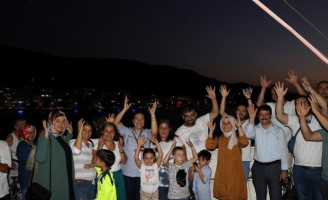 Büyükşehir'den engelsiz mehtap turu