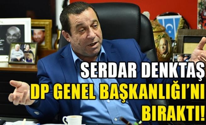 Denktaş, DP Genel Başkanlık görevini bıraktı