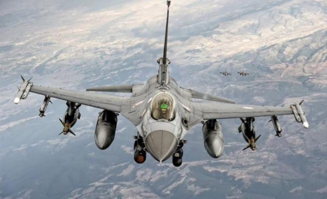 F-16'larımız Fırat'ın Doğusunda Uçtu