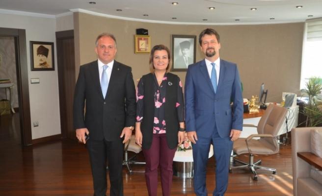 Macaristan Büyükelçisi'nden Başkan Hürriyet'e Ziyaret