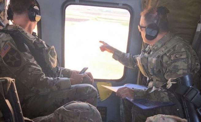 Suriye'de Türk-ABD Ortak Helikopter Uçuşu