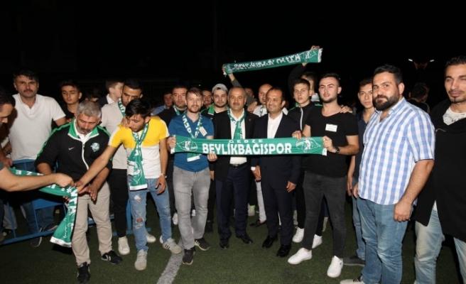 Başkan Büyükgöz Beylikbağıspor'un Sezon Açılışında