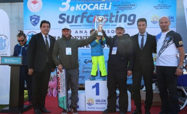 3. Ulusal Kocaeli Surf Casting (Balık Tutma) yarışması tamamlandı