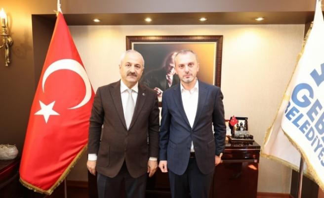 Başkan Büyükgöz, Genel Başkan Yardımcısı Erkan Kandemir'i makamında ağırladı