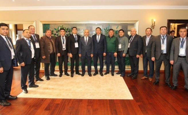 Başkan Büyükgöz'ün Konukları Kırgızistan'dan Başkanlar