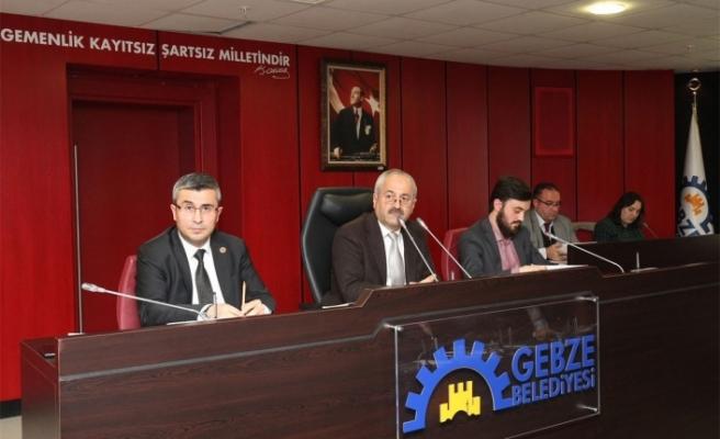 Gebze'de Kasım Meclisi yapıldı