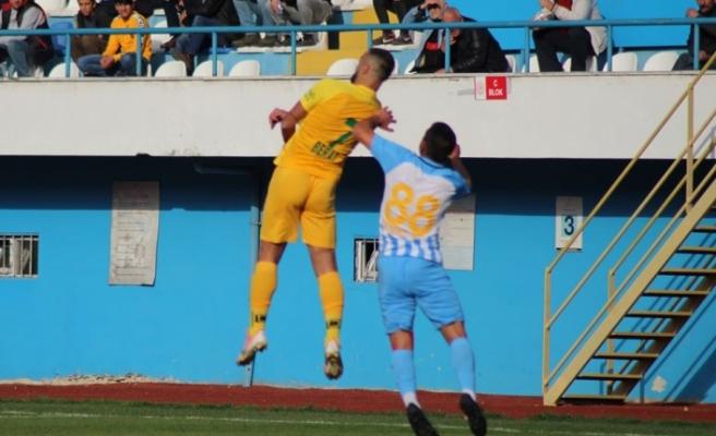 Darıca evinde Osmaniyespor'a boyun eğdi :0-1