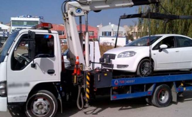 Kocaeli'de bir yılda 6 bin araç çekildi