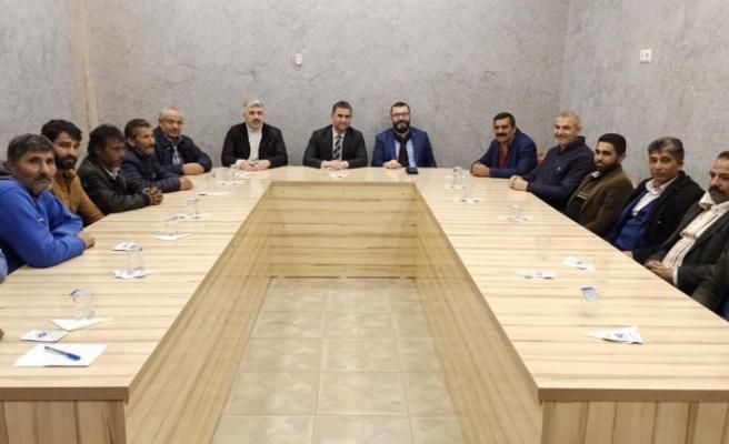 Başkan Turan, Roman vatandaşlarla bir araya geldi.