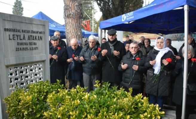Leyla Atakan mezarı başında anıldı