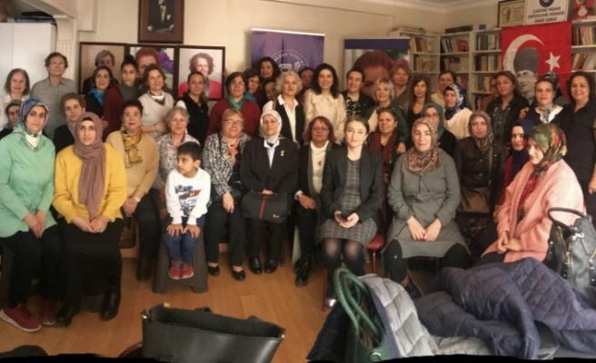 ÇYDD'de 8 Mart Dünya Emekçi Kadınlar günü