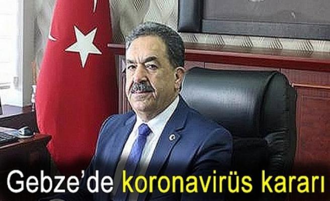 Gebze'de, Koronavirüs salgını önlemlerinden taviz yok
