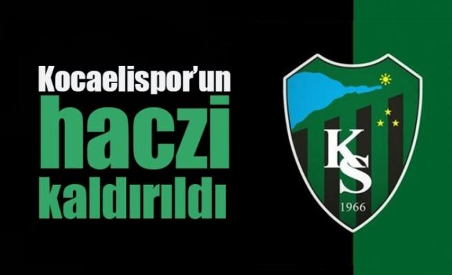 Kocaelispor'da haciz kaldırıldı