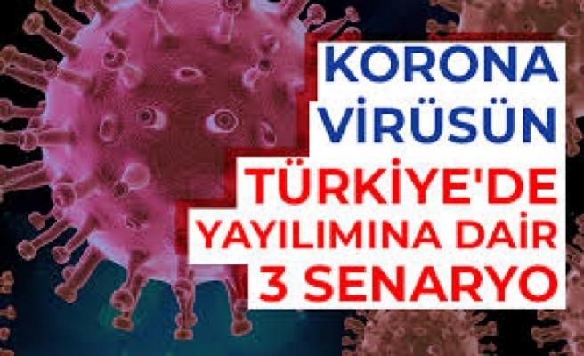 Korona Virüsünün Türkiye'de Yayılımına Dair 3 Senaryo Hazırlandı