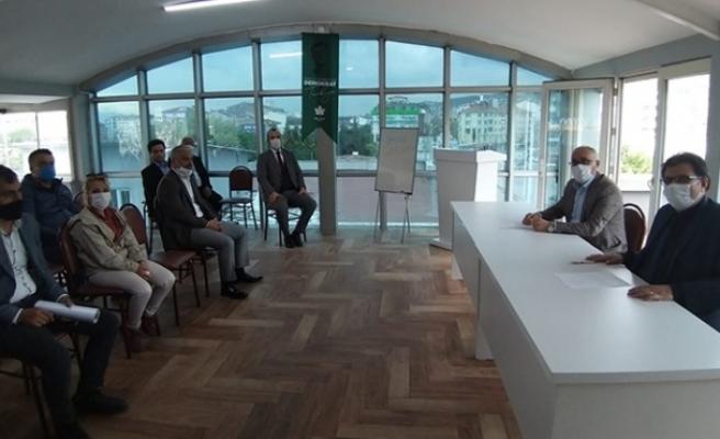 Gelecek Partisi ilçe başkanları toplandı