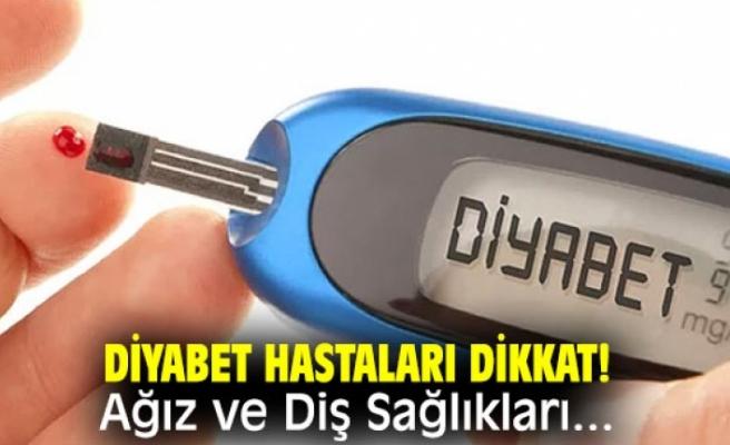 Diyabet Hastalarına Ağız ve Diş Sağlığı Uyarısı