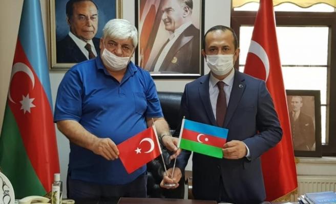 Başkan Vekili Çakmak'tan Azerbaycan'a destek ziyareti