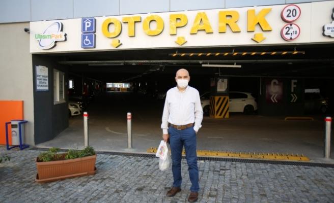 Gebze'nin akıllı otoparkı vatandaşların tercihi oldu