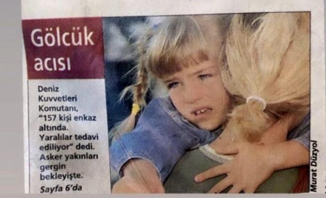 Gölcük depreminde göçük altından çıkarılan oyuncudan İzmir paylaşımı