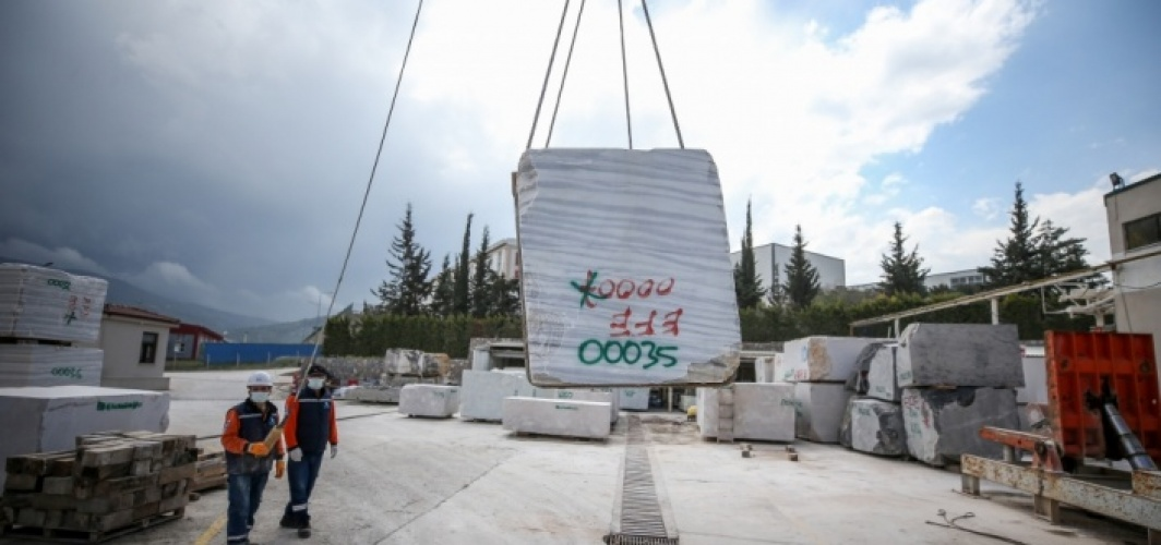 Bursa'da ekim ayında dev mermer blokların görücüye çıkacağı fuar şimdiden ilgi görüyor