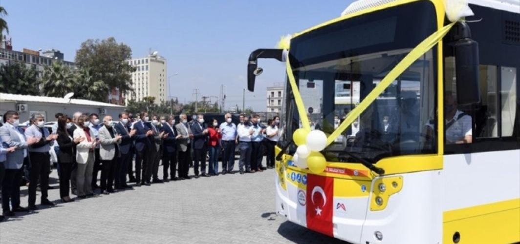 Karsan'dan Mersin'e 30 adetlik doğal gazlı otobüs teslimatı