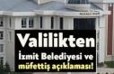"""Kocaeli Valiliğinden """"İzmit Belediyesine müfettiş..."""