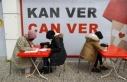 70 yabancı öğrenci kan bağışında bulundu