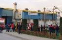 Gebze'de trafo fabrikasında çıkan yangın...