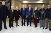 Başkan Büyükakın, DSP il yönetimini konuk etti